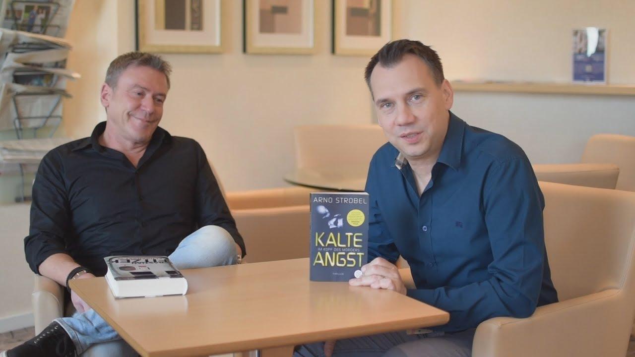 Arno Strobel und Sebastian Fitzek im Gespräch