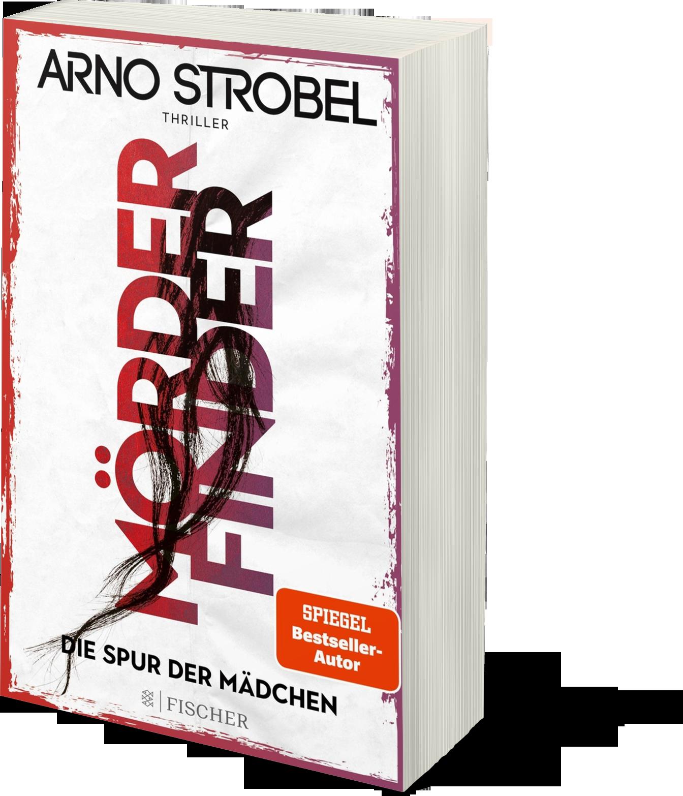 Cover Mörderfinder Arno Strobel